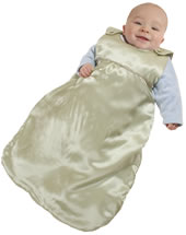 PamperSack Royal Silk baby sleep sack - the perfect baby gift.